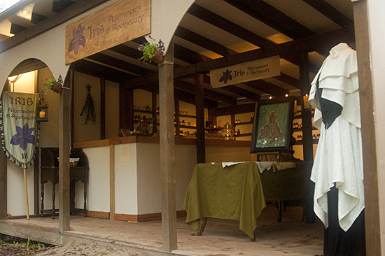 Iris Adornments and Apothecary at Sherwood Forest Faire